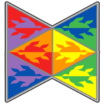 Rainbow Triangle Turtles