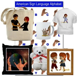 ASL Designs - I Love You, Friends, Interpreter