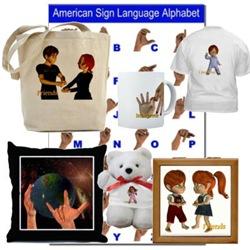 ASL Designs - I Love You, Friends, Interpreter
