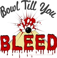 Bowl Till You Bleed is another excellent tshirt from the Dexter TV series.  If you are a fan of Dexter, the you can get your offical Dexter shirts here.