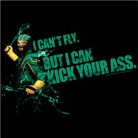 Kick Ass Can't Fly