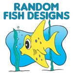 Random Fish Designs