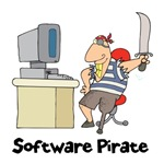 Funny Software Pirate