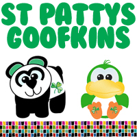 St. Patrick's Day Irish Goofkins