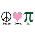 Peace. Love. Pi.