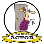 WORLDS GREATEST ACTOR CARTOON