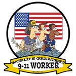 WORLDS GREATEST 9-11 WORKER