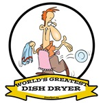 WORLDS GREATEST DISH DRYER CARTOON