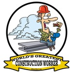 WORLDS GREATEST CONSTRUCTION WORKER II CARTOON