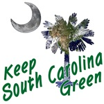 Keep South Carolina Green Apparel and Gifts