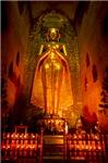 Indoor Golden Budha
