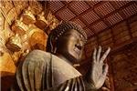 Shrine of Giant Stone Buddha Meditating (H)