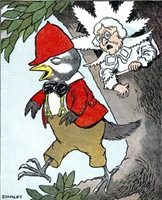 Naughty Woodpecker