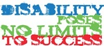 Disability Poses No Limits To Success!