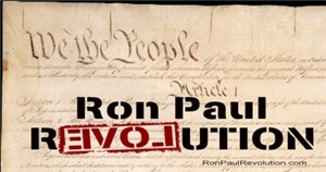 Ron Paul & Preamble Closeup Women's Clothing