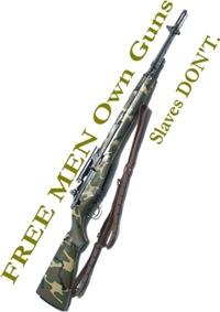 Free Men own rifles#2 Women's Clothing