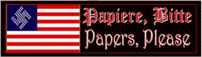 Papiere, Bitte