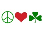 Signs of Peace Love Luck