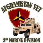 3d MarDiv Afghanistan - Humvee