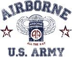 Army Airborne Grunge Style - 82nd Airborne