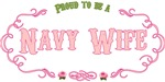 T-shirts, hats, mugs, stickers and gift items for the Navy Wife