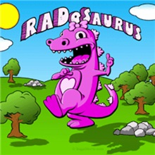 RADosaurus Dinosaur Cartoon for Girls