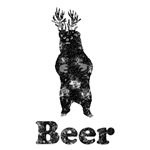 Vintage Beer Bear Deer 1
