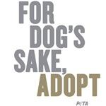 For Dog's Sake Adopt