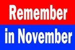 Remember in November