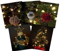 Christmas Cards for the fiber enthusiast