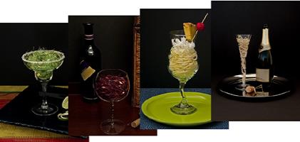 Yarn Cocktail Notecards