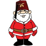 Santa the Shriner