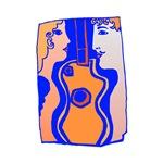 music guitarist design
