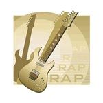 electric guitar brown rap music