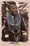 Mardi Gras child