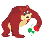 Strawberry Bear T-shirts and Gifts