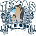 Save the Penguin Texas T-Shirts and Gifts