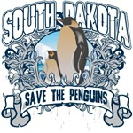 Save the Penguin South Dakota T-Shirts and Gifts