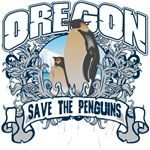 Save the Penguin Oregon T-Shirts and Gifts
