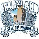 Save the Penguins Maryland T-Shirts and Gifts