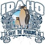 Save the Penguins Idaho T-Shirts and Gifts