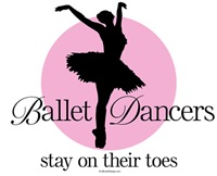 Ballet Dancers On Their Toes