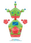 Kawaii Robot 00110101