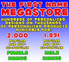 The First Name Megastore