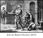John the Baptist beheaded