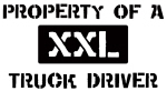 Property of: Truck Driver
