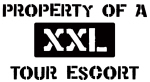 Property of: Tour Escort