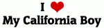 I Love My California Boy