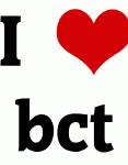 I Love bct
