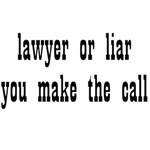 Lawyer Or Lier You Make The Call